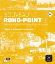Nouveau rond-point 3 ; 3 ; cahier d'activités - Couverture - Format classique
