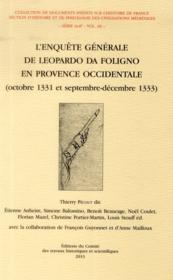 Enquete generale de leopardo da foligno vol 6 - Couverture - Format classique