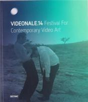 Videonale 14 /Anglais/Allemand - Couverture - Format classique