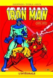 Iron Man ; intégrale t.6 ; 1970-1971 - Couverture - Format classique