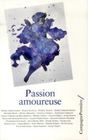 Passion amoureuse - Couverture - Format classique