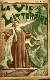 Un Homme Peureux. La Vie Litteraire. - Couverture - Format classique