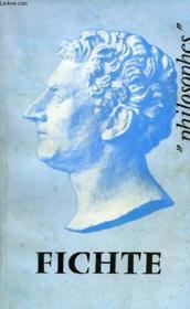 Fichte, Sa Vie, Son Oeuvre, Avec Un Expose De Sa Philosophie - Couverture - Format classique