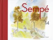 Agenda Sempé 2014 - Couverture - Format classique