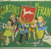 Chansons De France. Album D'Image Chocolat Poulain. - Couverture - Format classique