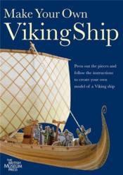 Make your own viking ship model - Couverture - Format classique