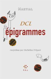 Épigrammes - Couverture - Format classique