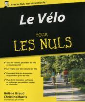Le vélo pour les nuls - Couverture - Format classique