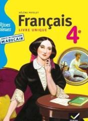 Rives Bleues Francais Livre Unique 4e Manuel De L
