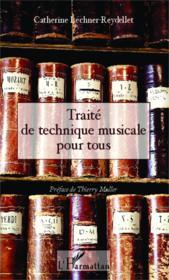 Traité de technique musicale pour tous - Couverture - Format classique