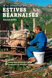 À la découverte des estives béarnaises (Aspe et Ossau) - Couverture - Format classique