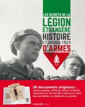 Les secrets de la légion étrangère - Couverture - Format classique