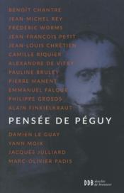 Pensée de Péguy - Couverture - Format classique