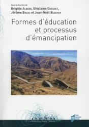 Formes d'éducation et processus d'émancipation - Couverture - Format classique