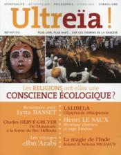 Ultreïa ! N.2 ; les religions ont-elles une conscience écologique ? - Couverture - Format classique