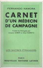 Carnet d'un médecin de campagne - Couverture - Format classique