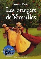 Les orangers de Versailles - Intérieur - Format classique