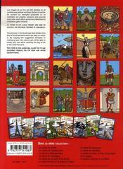 Je colorie les gallo-romains - 4ème de couverture - Format classique