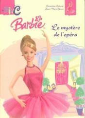 Barbie et le mystere de l'opera - Couverture - Format classique