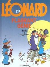 Léonard t.19 ; flagrant génie - Intérieur - Format classique