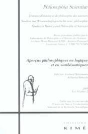 Revue Philosophia Scientiae N.9 - Couverture - Format classique