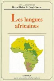 Les langues africaines - Couverture - Format classique