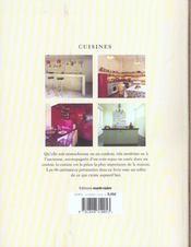 Cuisines - 4ème de couverture - Format classique