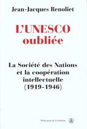 Unesco Oubliee - Intérieur - Format classique