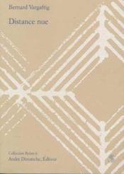 Distance Nue - Couverture - Format classique