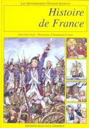 Histoire de france - Intérieur - Format classique