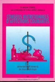 Conseils Nutritionnels - Couverture - Format classique