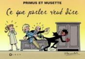 Primus et musette - Couverture - Format classique