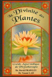 La divinité des plantes - Couverture - Format classique