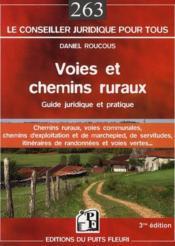 Voies et chemins ruraux - Couverture - Format classique