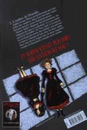 Les étranges soeurs Wilcox t.2 ; l'ombre de Dracula - 4ème de couverture - Format classique
