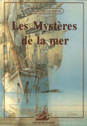 Les mystères de la mer - Couverture - Format classique