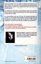 Glacé - 4ème de couverture - Format classique