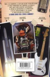 Comment faire forture avec un robot singe et une fusée achetée surinternet...; grand concour pour l'espace - 4ème de couverture - Format classique