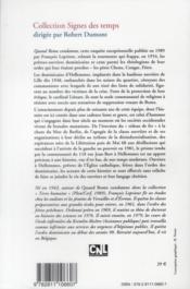 Dominicains ouvriers d'hellemmes. chronique d'un demi-siecle - 4ème de couverture - Format classique