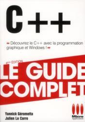 C++ - Couverture - Format classique