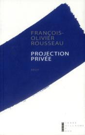 Projection privée - Couverture - Format classique