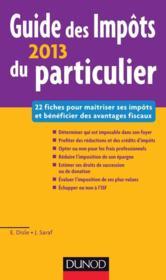 telecharger Guide des impots du particulier (edition 2013) livre PDF en ligne gratuit