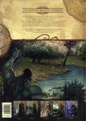 Elfes t.2 ; l'honneur des elfes sylvains - 4ème de couverture - Format classique