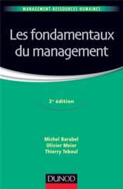 Les fondamentaux du management (2e édition) - Couverture - Format classique
