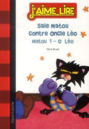 Sale matou contre oncle Léo - Couverture - Format classique