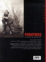 Frontiers t.1 ; la traque - 4ème de couverture - Format classique