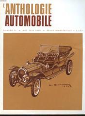L'Anthologie De L'Automobile N°11 - Couverture - Format classique