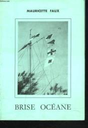 Brise Oceane. Poemes Maritimes. + Envoi De L'Auteur - Couverture - Format classique