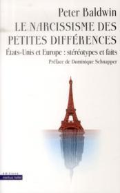Narcissisme Des Petites Differences - Couverture - Format classique