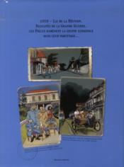 La grippe coloniale t.1 et t.2 ; coffret - 4ème de couverture - Format classique